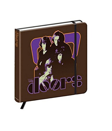The Doors Notebook 70s Panel band logo Nue offiziell hardback journal -