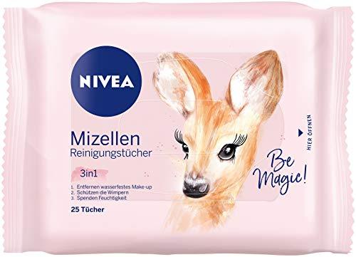 NIVEA 3-in-1 Mizellen Reinigungstücher im 6er Pack (6 x 25 Stück)