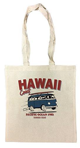 Crazy Hawaii-hemden (Erido Hawaii Coast Einkaufstasche Wiederverwendbar Strand Baumwoll Shopping Bag Beach Reusable)