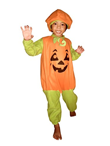 F69 Größe 116-122 Kürbis Pumpkin Kostüm für Halloween und Fasching