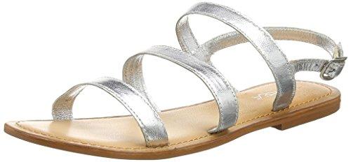 TANTRA - Strap Sandals, Sandali Donna Argentato (silver)