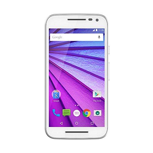 Motorola Moto G Smartphone, 3. Generation, entsperrt, 5 Zoll/12,7cm, 8 GB, Weiß, Import aus - X Entsperrt Motorola Handy