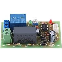 AC 220V Timer Verzögerungsschalter Modul Input/Output Ausschalten Brett Zeit Justierbar(1Sec~60Sec)