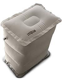 SYCOTEK Reposapiés Inflable Portable, Almohada para la Relajación y Protección