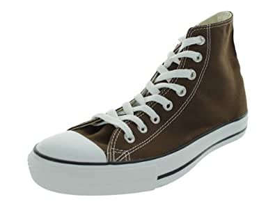 Converse 1p626 men chuck taylor all star hi chocolate for Converse all star amazon