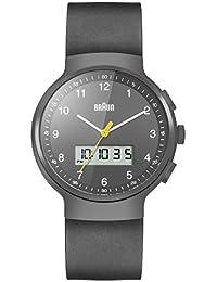 Braun Herren-Armbanduhr Analog Quarz Silikon - BN0159GYGYG