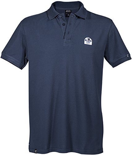 GOZOO Star Wars Polo Shirt Pique Men R2-d2 Droid - Don't Get Technical With Me Blue