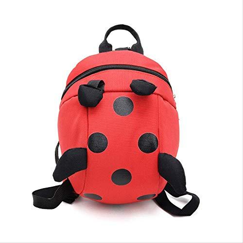 Kinder Tasche, Männer Und Frauen Mode Kindergarten Rucksack Wild Mini Kinder Tasche Tasche Süße Cartoon Baby Kind Dekompression, Unisex rot -