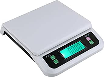 Atom Electronic/Digital Compact Upto 40Kg Weighing Scale A129,White