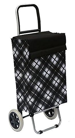 Einkaufstrolleys in der Tasche von 40L - Bo Time schwarz ...