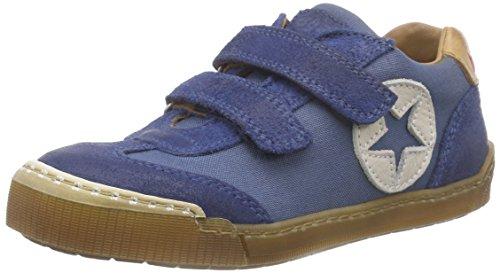 Bisgaard 40312116, Baskets Basses Garçon Bleu (150 Dark Denim)