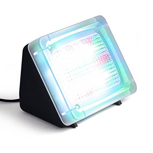 fernseh simulator Incutex LED Fake TV-Simulator Fernseh Attrappe Einbruchschutz Home Security mit Lichtsensor und Timer 4/8 Std Laufzeit ab Dämmerung o. Dauerfunktion