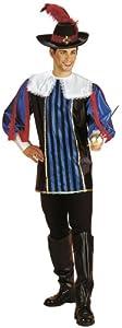 Cesar - Disfraz de mosquetero para hombre (adulto), talla 50/52 cm