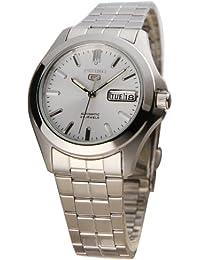 Seiko Herren-Armbanduhr 5 Analog Automatik Edelstahl SNKK87K1