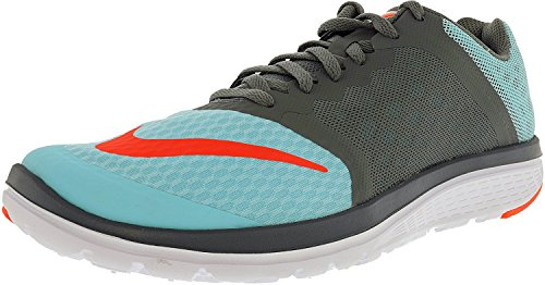 Nike Fs Lite Run 2, Chaussures de running femme Copa/Cool Grey/White/Hyper Orange