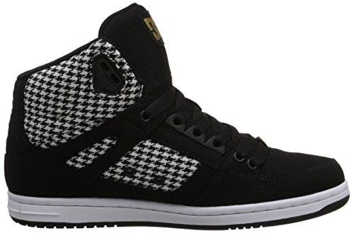 DC - giovani donne Rebound l'alta Tx Se salve duschvorhangstange scarpe (Nero/nero / bianco)
