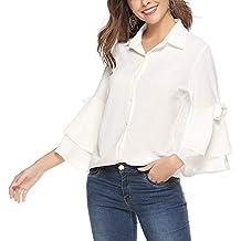newest f754d 615e1 Amazon.it: camicia seta - Bianco