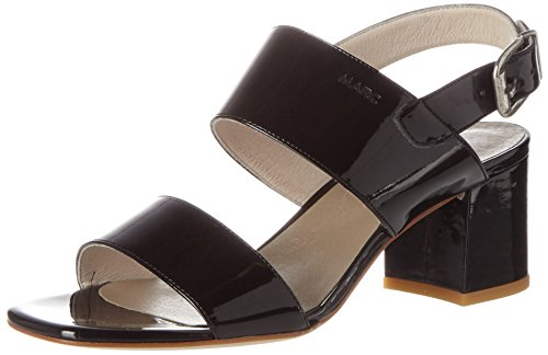 Schuhe Celine (Marc Shoes Damen Celine Offene Sandalen, Schwarz (Schwarz), 40 EU)