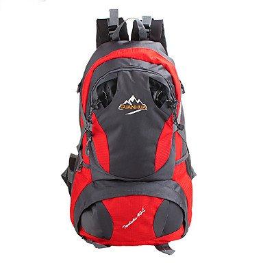 40 L Rucksack Klettern Freizeit Sport Camping & Wandern Wasserdicht Staubdicht tragbar Multifunktions Black