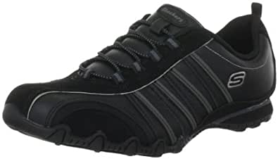 Skechers Bikers Cruisers 47841, Damen Fashion Sneakers, Schwarz (BLK), EU 35