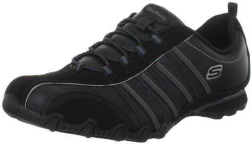 Skechers Bikers Cruisers 47841 Damen Fashion Sneakers Schwarz (Blk)