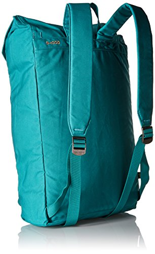 Fjällräven - Zaino ripiegabile Num. 1, Unisex, Zaino, Tasche Foldsack No.1, Black, Taglia unica Copper Green