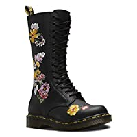 The classic 1914 Vonda II boots from Dr. Martens has been revamped with a unique floral upper taken from Darcy print, recoloured and emboridered on the side of the boot. The Vonda II mid calf boot features a lace up fastening with reinforced ...