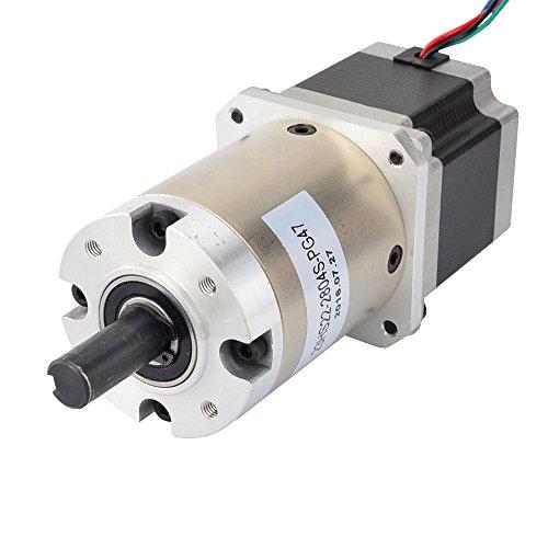 STEPPERONLINE Nema 23 Getriebemotor 2,8A 47:1 Planetengetriebe Getriebe Schrittmotor für Bastelarbeiten CNC