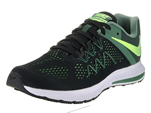 Nike Herren 831561-010 Trail Runnins Sneakers Black/Ghost Green/Green Stone