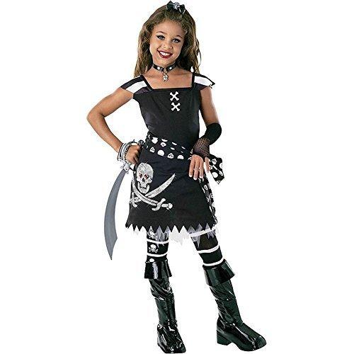 Scarlet Kostüm Girl - Scar-let Pirate Girl Costume - Medium by Rubie's