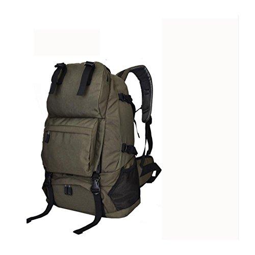 Rucksack 40L Outdoor Travel Backet Reise Bergsteigen Tasche army green