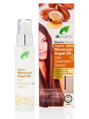 Dr.organic Organic Moroccan Argan Oil Hair Treatment Serum 100ml