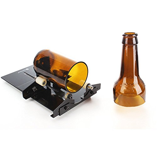 Flaschenschneider, Genround Glasflaschenschneider Glass Bottle Cutter Maschine Wein Bier Glasflaschen Schneider Glasschneider Schneidwerkzeug Kit - - Wein-maschine