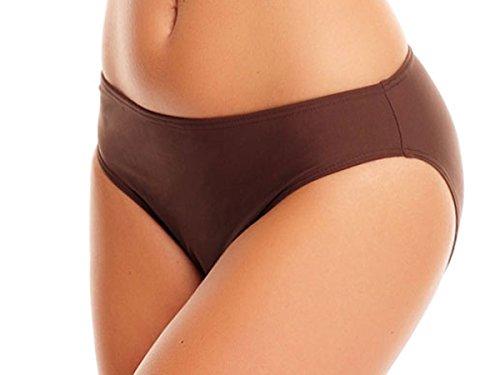 Elegante/figurum gioco fine/Minimizer Bikini Pantaloni/High Waist Bikini Pantaloni/Slip/diversi colori (Oct-S10FLAV f3428) 1 spesavip