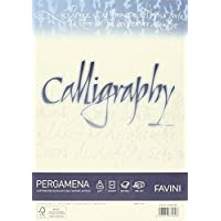 Favini Calligraphy A692084 - Papel pergamino (A4, liso, 50 unidades)