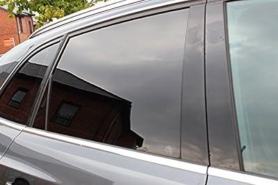 Diversitywrap anti-rayures de voiture van solaire Window film Teinte 1Noir de fumée (10%)
