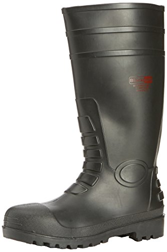 Blackrock Mens SF43 Safety Wellingtons S5 SRC Black