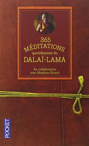 365 mditations quotidiennes du Dala-Lama