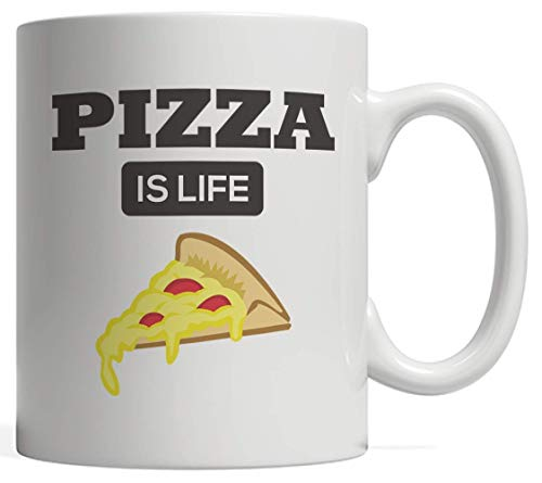 Funny Gift Idea For Pizzas Slice Lover Who Loves To Eat Food And Eating Slices! Great For Cool Foodie Lovers Either Cheese Pepperoni Ketchup Or Even Pineapple! ()