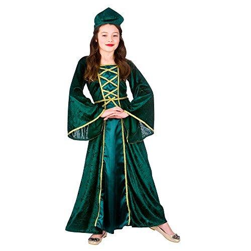 alter Tudor Prinzessin Kostüm für Königsblau Kostüm Kinder XL 11-13 jahren (Elf Kostüm Für Mädchen)