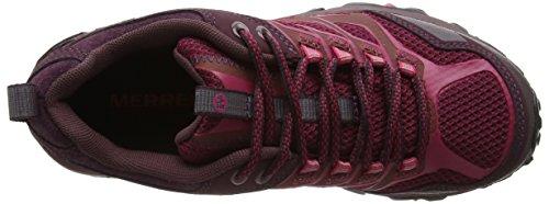 Merrell Moab Fst GTX, Chaussures de Randonnée Basses Femme Rouge (Beet Red)
