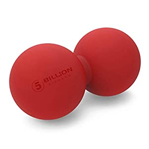 masaje del tejido profundo: 5BILLION Pelota Masaje Double Massage Ball - Pelota Lacrosse & Balon Fitness par...