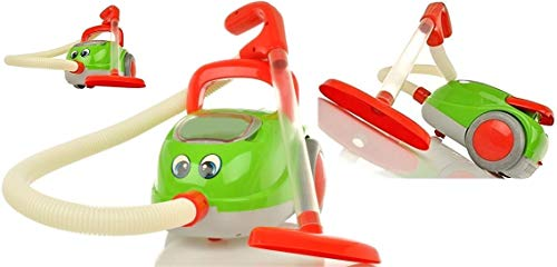 Kinderstaubsauger Vacuum Cleaner - Saugfunktion Licht Musik - Staubsauger Spielzeug Sauger Spielzeugsauger hoher Spaßfaktor wie Kroko Doc