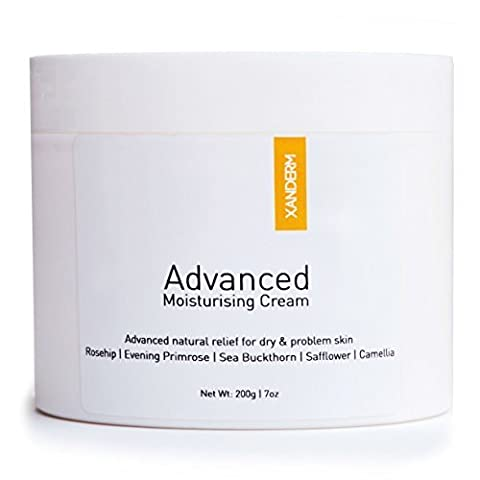 XANDERM Advanced - Eczema Cream & Natural Moisturiser Treatment for Dry or Itchy Skin. Rich, Thick & Soothing Cream Emollient for Hands, Face, and Body. NEW 2X LARGER
