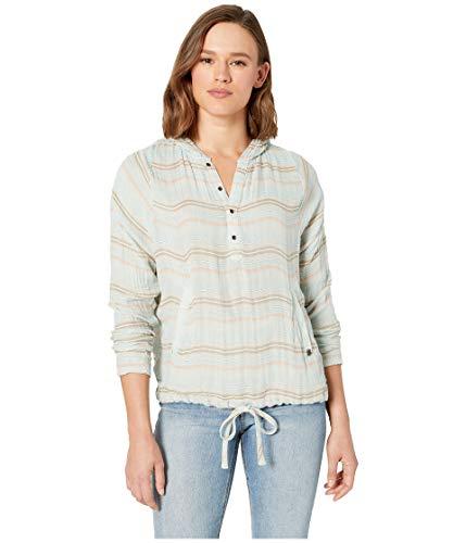 Prana Damen Baja Hoodie Pullover Sweatshirt Kapuzenpullover - Baja Pullover Hoodies