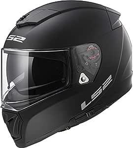 LS2 Helmets Unisex-Adult Full Face Helmet (Matte Black, Large) (Breaker)