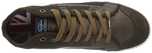 Pepe Jeans Industry Half, Baskets Basses Homme Marron (878Brown)