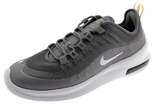 Nike Air Max Axis Prem Scarpe da Running Uomo, Grigio (Gunsmokesea/White/Univ Gold/Black 007), 42.5 EU