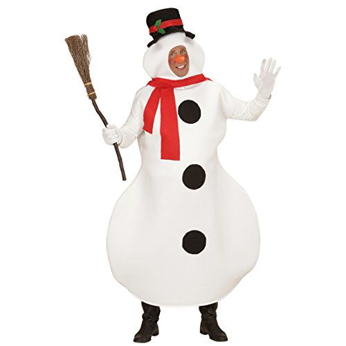 Weihnachtskostüm Schneemann Kostüm M/L 50/52 Schneemannkostüm Erwachsene Winter Outfit Herren Schneemänner Kostüm Weihnachtsoutfit Weihnachten