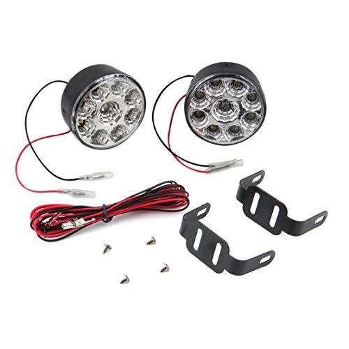2 teile/para Universal 9 LED Runde Tagfahrlicht Lauflicht DRL Auto Nebelscheinwerfer Scheinwerfer Für Geländewagen Lkw